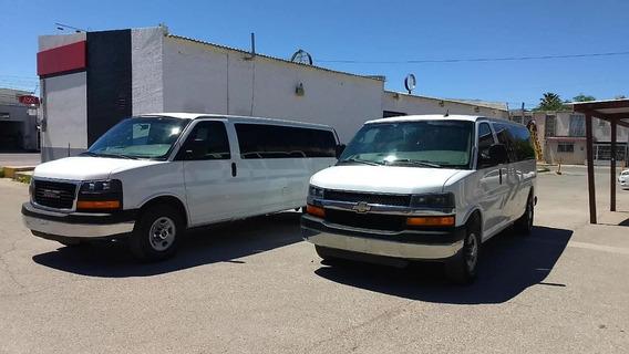 2013 Gmc Savana 2011 Chev Express Van 15 Pasajeros