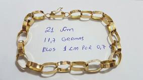 Pulseira Ouro 18k 11.7 Gramas