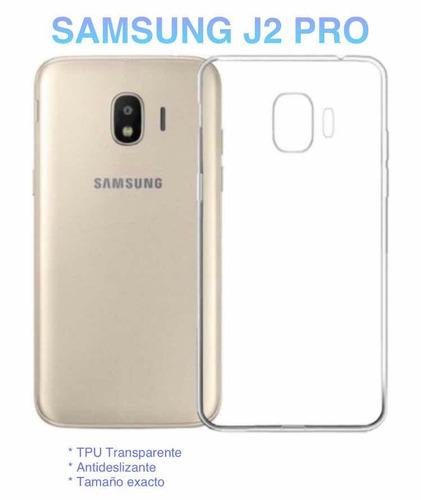 cbaa218a766 Funda Case Protector Tpu Transparente Para Samsung J2 Pro