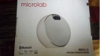 Parlante Bluetooth 2.1 Microlab
