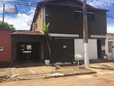 Casa Com 3 Dormitórios Para Alugar, 220 M² Por R$ 1.500/mês - Setor Bougainville - Anápolis/go - Ca1333