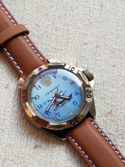Relógio Russo Militar Soviético Vostok Lindo