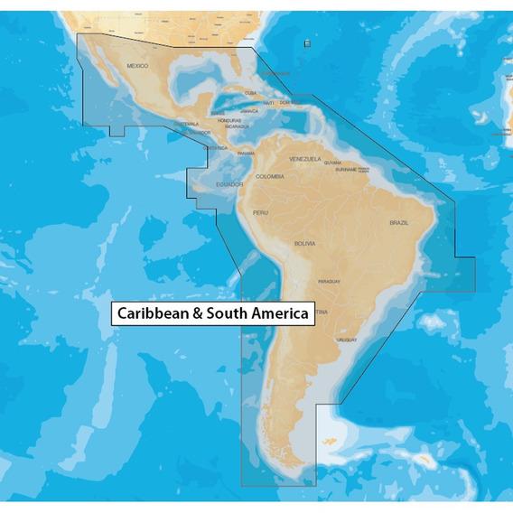 Carta Náutica Navionics + Plus América Do Sul E Caribe