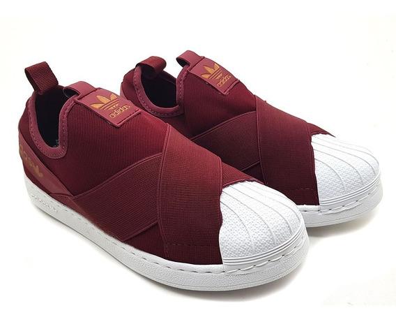 Tênis adidas Superstar Slip On Promoção + Meia