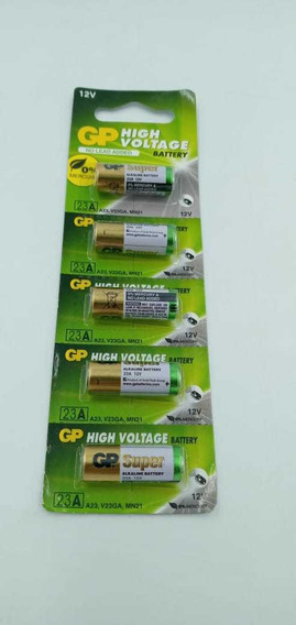 Pilha E Bateria Original Gp 23a 12v Cartela Com 5