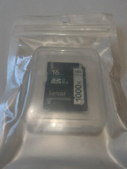 Lexar Professional Sdhc U3 16gb 1000x 150mb Pro Entraga