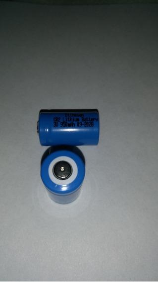 Par Bateria Cr2 950mah Litium (nao Recarregavel)