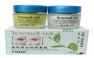 Yinni Té Verde Anti Pecas Cuidado La Piel,crema Blanqueadora