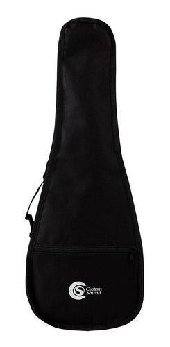 Bag Capa Acolchoada Para Ukulele Concert Custom Sound Ukc-bk