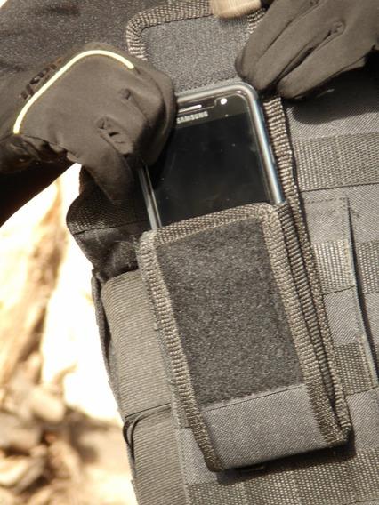 Porta Celular Accesorio Molle Tacticos Coyote
