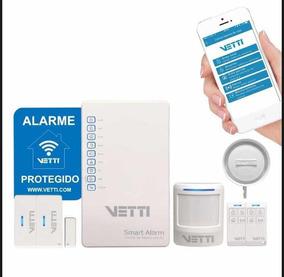 Vetti Smart Alarm Kit Com Gsm 2g