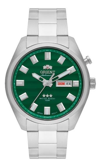 Relógio Orient Automático 469ss076 Original Mostrador Verde