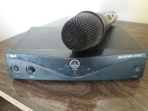 Microfone Sem Fio Akg Perception Rs 45 Vocal Profissional