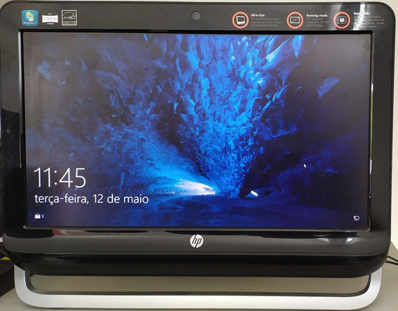 Hp All In One Amd Tela 20polegadas - Usado