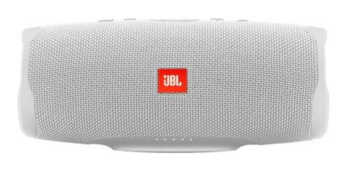 Imagen 1 de 5 de Bocina JBL Charge 4 portátil con bluetooth white 110V/220V