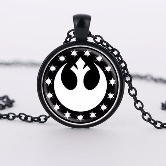 Collar Star Wars Insignia Alianza Rebelde Envio Gratis