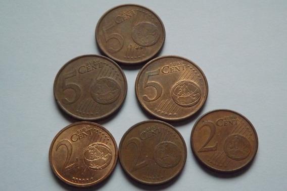 Euro- 2 E 5 Cents 2002 Paises Diferentes