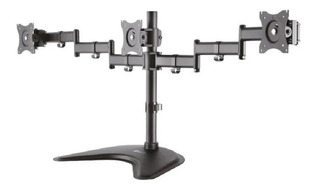 Klipx Soporte Triple Monitor 13 A 27 180-380° - Biosecve