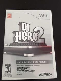 Juego Para Consola Wii. Dj Hero 2