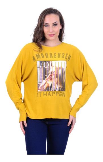 Suéter Para Dama Capricho Collection Ck1-591