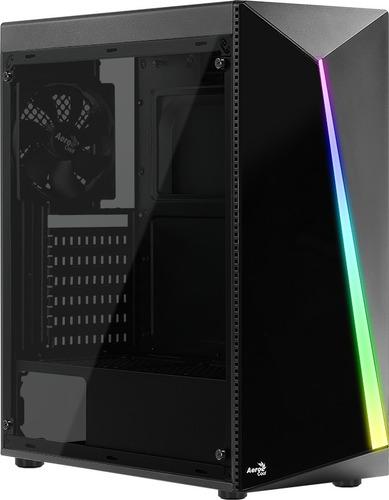 Gabinete Gamer Aerocool Shard Negro Rgb