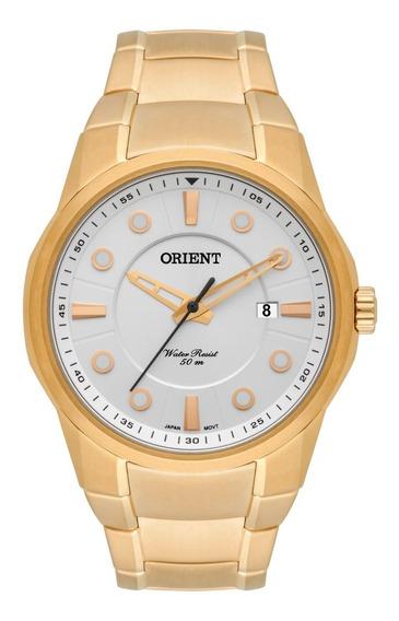 Relógio Orient Original Masculino Dourado Mgss1121 S1kx