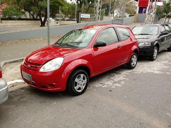 Ford Ka 1.0 2011 Mpi 8v Vermelho