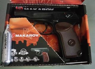 Pistola De Aire Makarov Co2 Bb