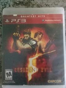 Resident Evil 5 Edição Greatest Hits Midia Fisica Ps3