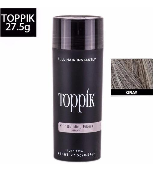 Toppik Hair 27,5 Grisalho Fibra Queratina Pronta Entrega