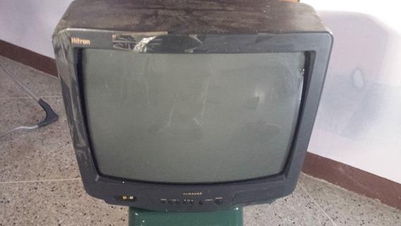 Televisor Samsung, Modelo Ct-5038z Con Control Remoto