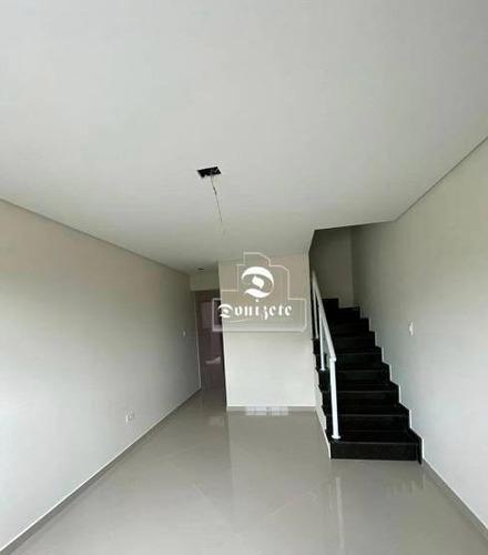 Sobrado Com 2 Dormitórios À Venda, 84 M² Por R$ 455.000,00 - Campestre - Santo André/sp - So3490