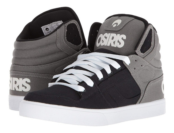 Zapatillas Osiris Clone Grey / Black / Black ( Kids )