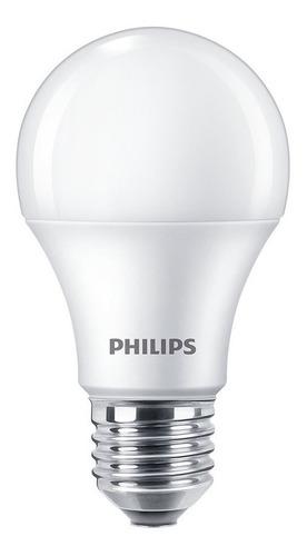 Imagen 1 de 10 de Pack X10 Lamparas Philips Foco Bulbo Led 220v 12w  = 95w E27