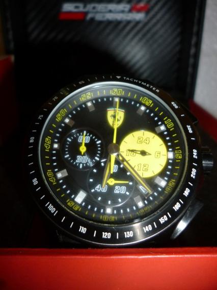 Relógio Scuderia Ferrari - Race Day - Amarelo Novíssimo
