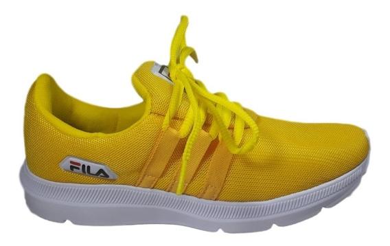 Tênis Feminino Ou Masculino Preto, Bordô E Amarelo