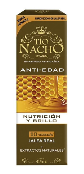 Tio Nacho Shampoo Anti-edad Y Anti-caida Magistral Lacroze