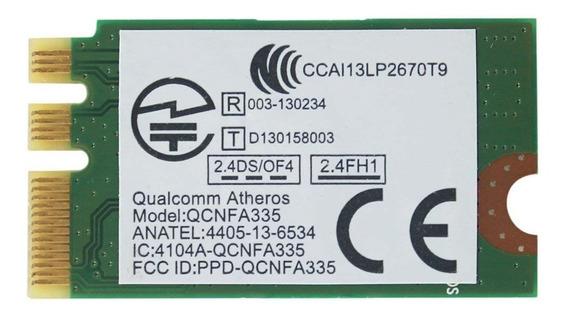 Placa Wirelles Atheros Wifi Bluetooth 4.0 Qcnfa335 P/ Lenovo