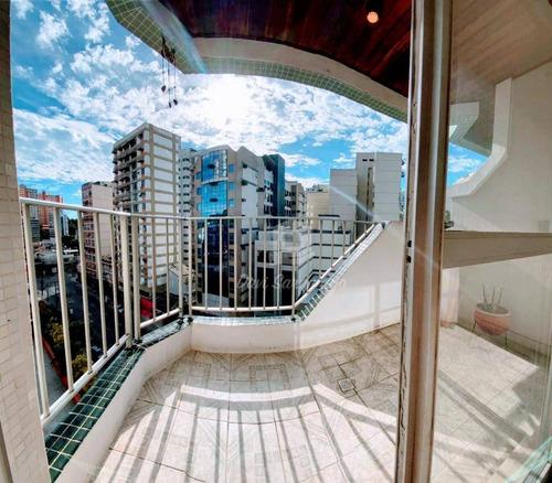 Imagem 1 de 16 de Apartamento Andar Alto, Com Varanda, 2 Dormitórios, 1 Suíte À Venda, 110 M² Por R$ 580.000 - Icaraí - Niterói/rj - Ap0804