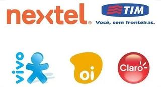 Recarga Online Celular R$20 Vivo Tim Claro Oi E Nextel