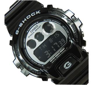 Reloj Casio G-shock Dw-6900-1v Wr 200 Agente Oficial Jr