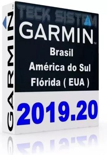 Atualização Gps Garmn América Do Sul + Flórida 2019.20