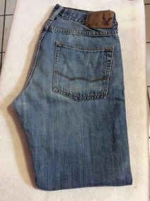 Pantalón Jeans American Eagle Slim Straight Talla 31...