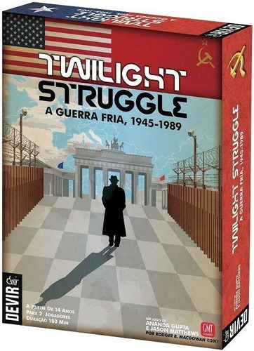 Jogo Twilight Struggle - Devir - Bonellihq B21