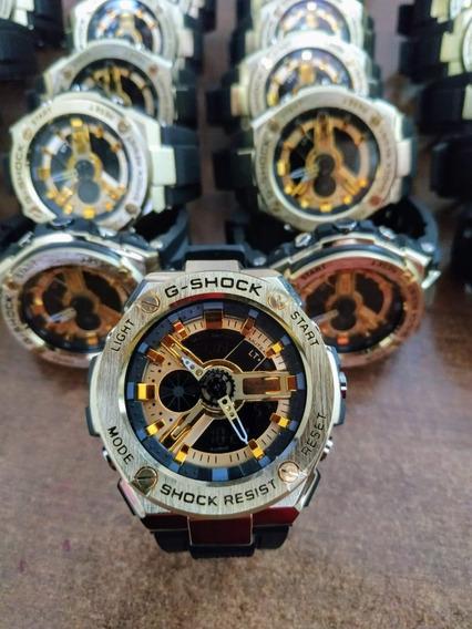 Relógio Aço/ferro Automatico À Prova D