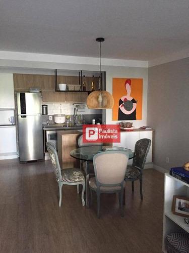 Apartamento À Venda, 122 M² Por R$ 954.000,00 - Santo Amaro - São Paulo/sp - Ap27381