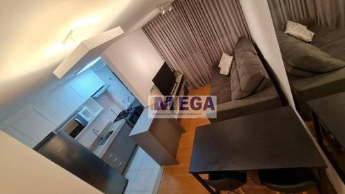 Apartamento Com 2 Dormitórios À Venda, 43 M² Por R$ 285.000 - Parque Industrial - Campinas/sp - Ap5017