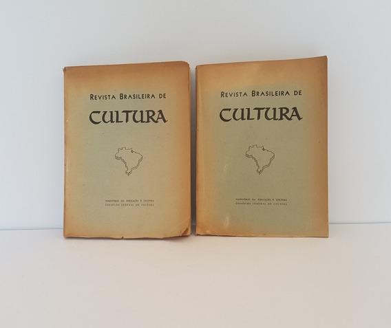 Revista Brasileira De Cultura 1973 2 Volumes