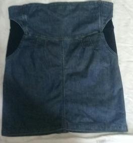 Falda De Jeans Pre Mamá