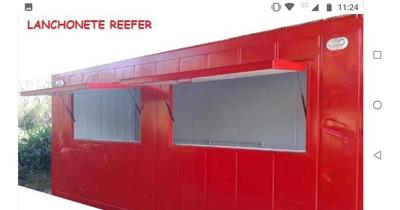 Lanchonete Em Container Reefer